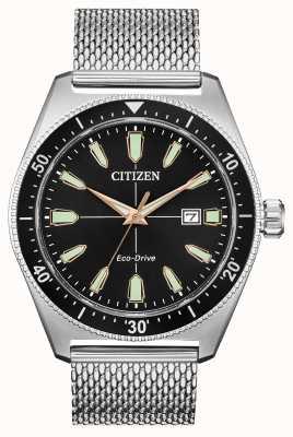 Citizen Brycen Eco-Drive en acier inoxydable pour homme AW1590-55E