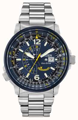Citizen Homme Eco-Drive Blue Promaster Nighthawk BJ7006-56L