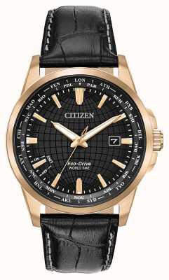 Citizen Minuterie Eco-Drive World pour homme WR50 BX1003-08E