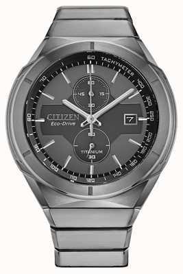Citizen Armure Super Titanium Eco-Drive pour homme CA7050-57H