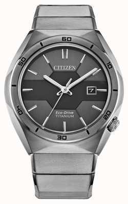 Citizen Armure Super Titanium Eco-Drive pour homme AW1660-51H