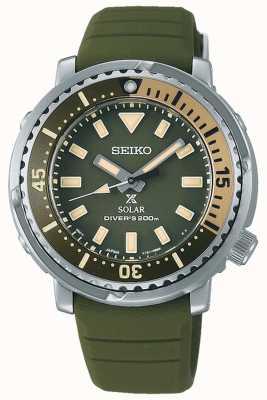Seiko Prospex | bracelet en silicone vert | cadran vert SUT405P1