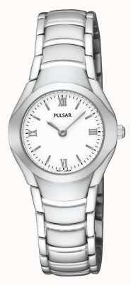 Pulsar Acier montre bracelet analogue inoxydable de dames PEGE49X1
