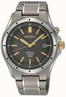 Seiko Cinétique du titane masculin SKA765P1