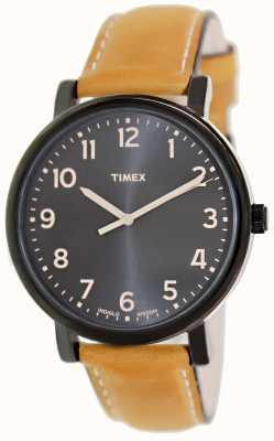 Timex Ez lecteur tan bracelet montre classique T2N677